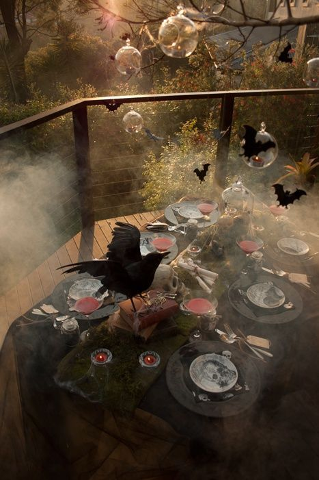 60 Awesome Outdoor Halloween Party Ideas (With images) | Halloween .