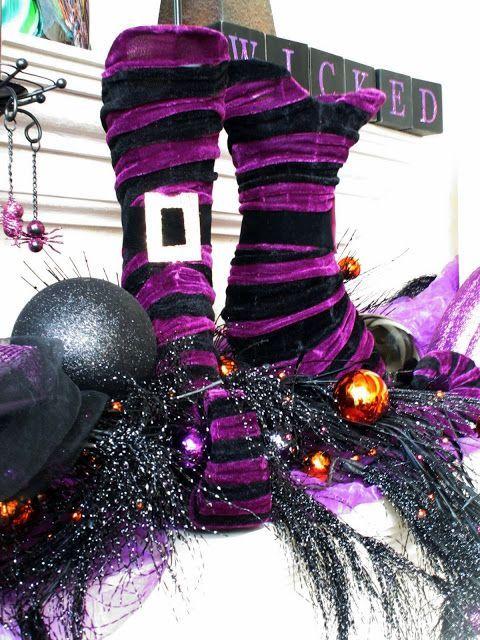 57 Awesome Purple Halloween Décor Ideas   DigsDigs   Halloween .
