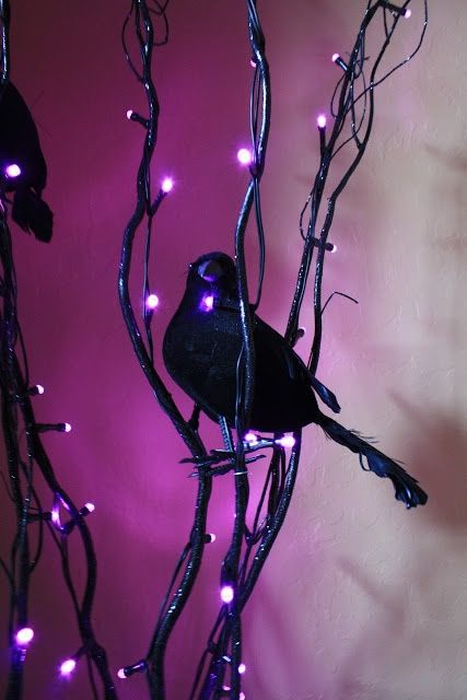 57 Awesome Purple Halloween Décor Ideas (With images)   Purple .