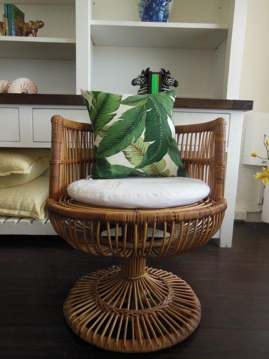 Pin by Sue P on AJ | Rattan chair, Summer decor, Cha