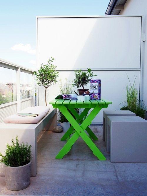 33 Awesome Scandinavian Balcony Designs | DigsDigs | Small balcony .