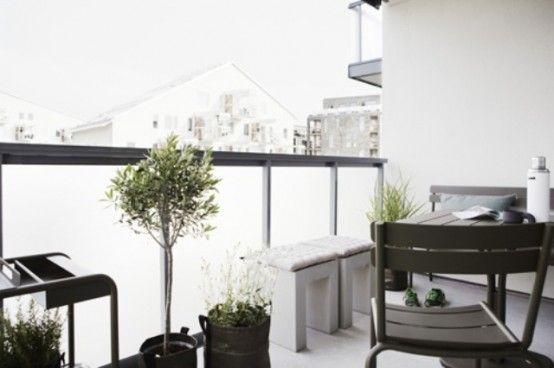 Awesome Scandinavian Balcony Designs | Balcony design, Interior .