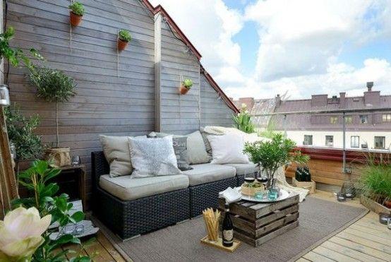 33 Awesome Scandinavian Balcony Designs | DigsDigs | Balcony .
