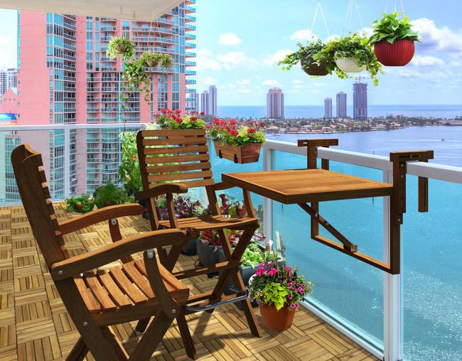 Awesome Balcony Living - Scandinavian Desi