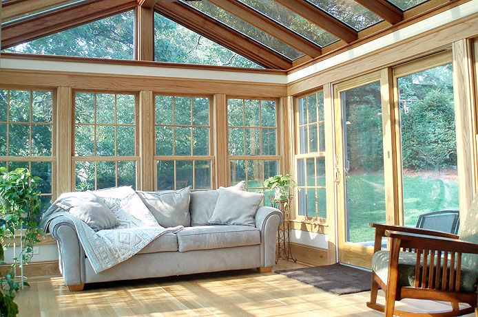 Sunrooms or solariums are a great way to make use of the natural .