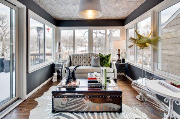 21 Awesome Sunroom Design Ideas - Interior Design Inspiratio