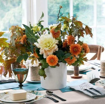 70 DIY Thanksgiving Centerpieces - Easy Thanksgiving Table Dec