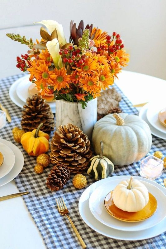 38 Awesome Thanksgiving Centerpiece Decor Ideas on a Budget .
