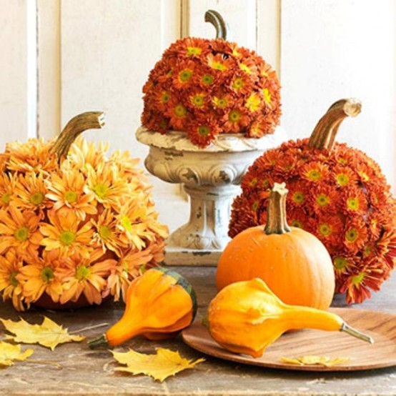 35 Awesome Thanksgiving Centerpieces - DigsDi