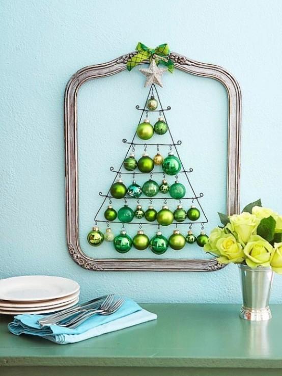 35 Awesome Traditional Christmas Tree Alternatives - DigsDi