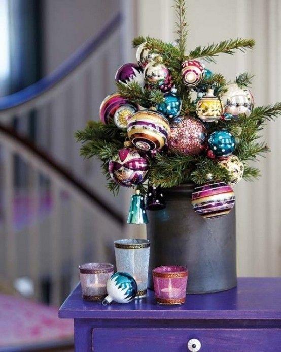 35 Awesome Traditional Christmas Tree Alternatives | Vánoční .