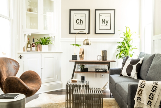Small Space Bachelor Pad Gets A Makeover On A Budget   Decori