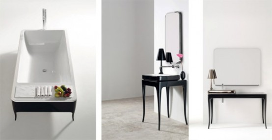 Bathroom Furniture With Glamour Touch Of The 30s - DigsDi