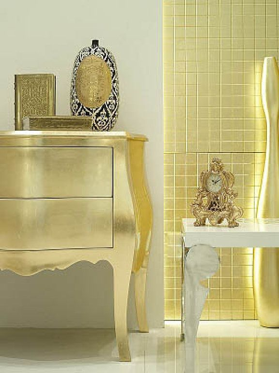 30 Glamorous Interiors with Golden Touch   Gold home decor, Gold .