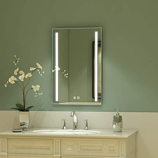 Amazon.com: ExBrite LED Bathroom Mirror, 20 x 30 inch, Anti Fog .