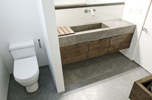 Concrete Sinks for the Bathroom | Concrete bathroom, Concrete sink .