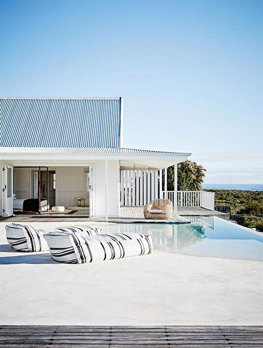 beach home in south africa with modern outdoor pool / sfgirlbybay .