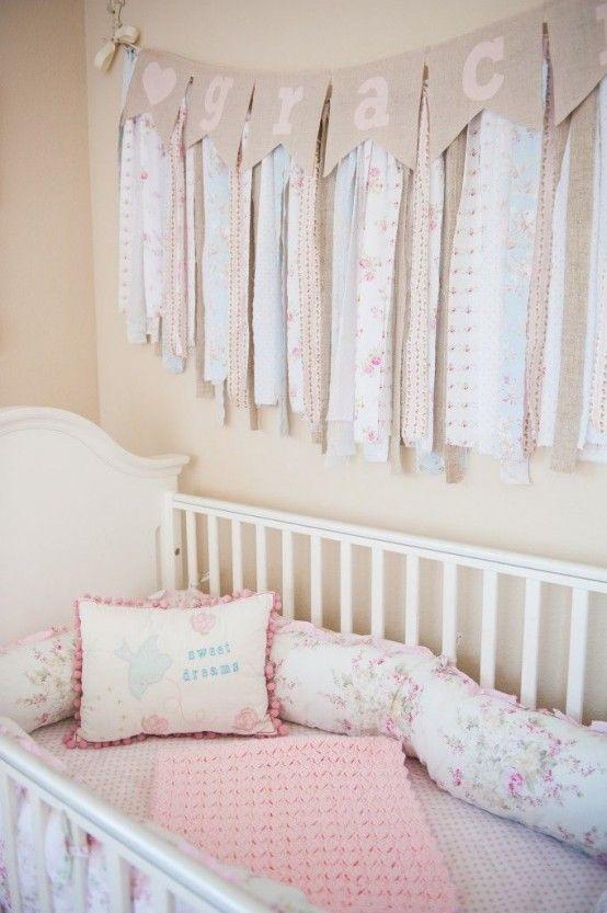 40 Beautiful And Cute Shabby Chic Kids Room Designs   Shabby chic .