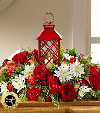 FTD Christmas Centerpiece in Oregon City, OR | Wild Strawberry Flori