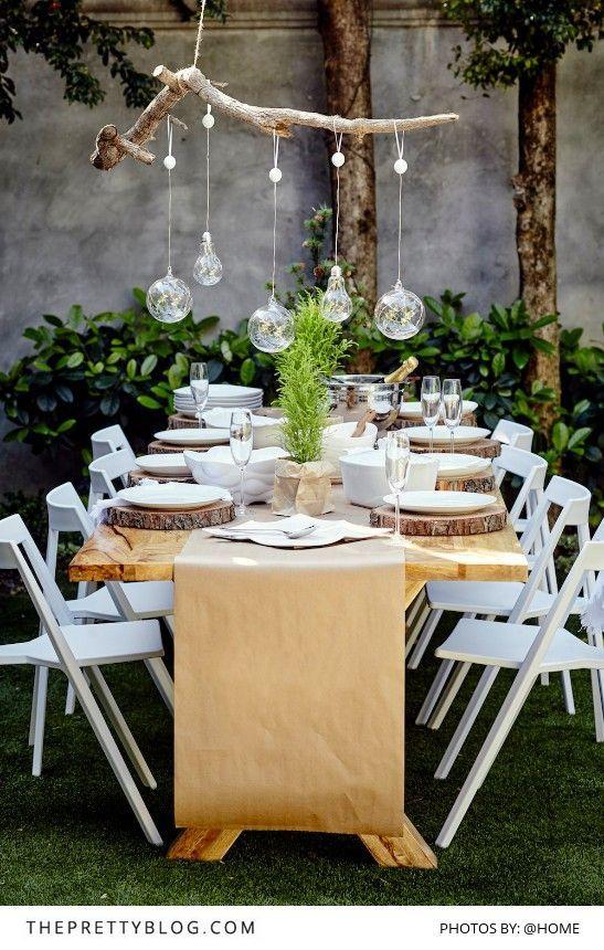23 ideas para decorar tu hogar en fin de año | Christmas table .
