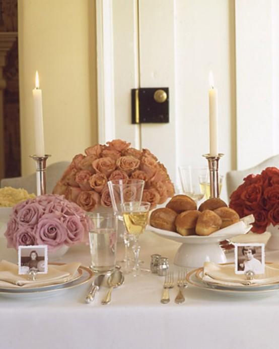 12 Beautiful Table Settings For Hanukkah - DigsDi