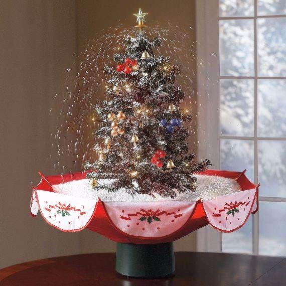 christmas-tabletop-decor-6   Small space christmas tree, Christmas .