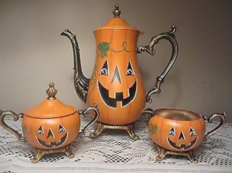 55 Beautiful Vintage Halloween Decoration Ideas | Vintage .