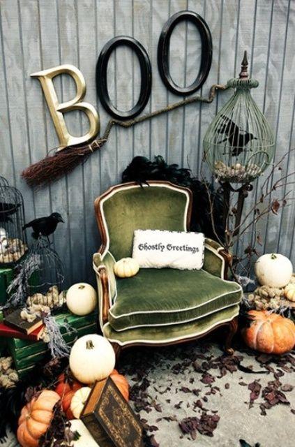 35 Beautiful Vintage Halloween Décor Ideas (с изображениями .