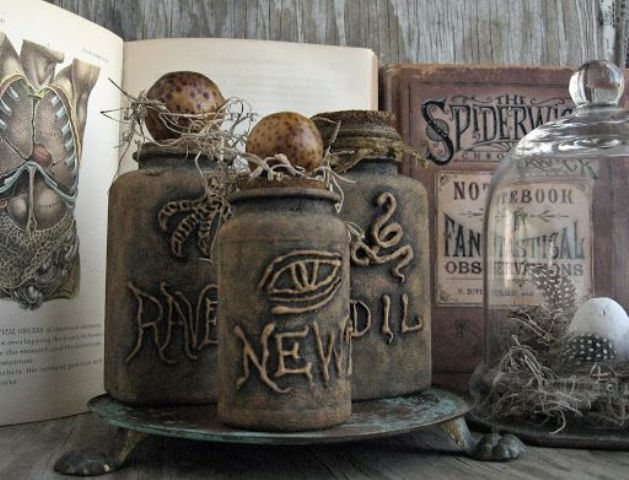 3 Creative Way For Interior Halloween Decorations Ide