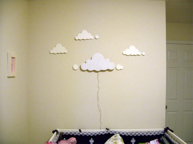DIY Cloud Wall Night Light For A Nursery Room   Kidsoman