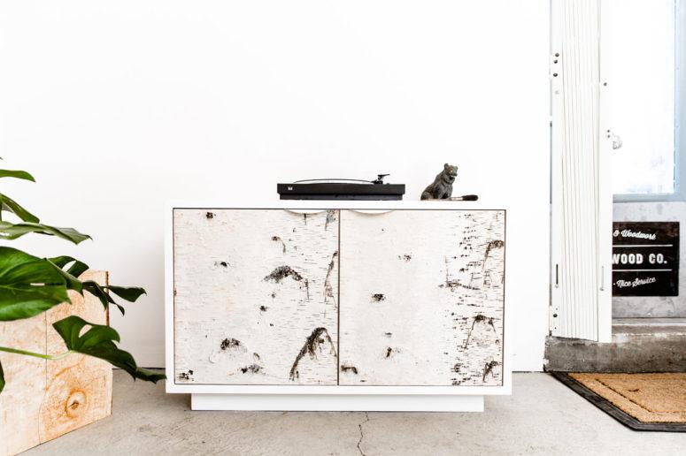 Birch Bark Cabinet Series For Nature Lovers - DigsDi