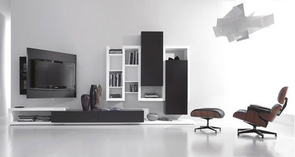 Multifunctional Wall Mount Tv Stand from Fimar (With images .