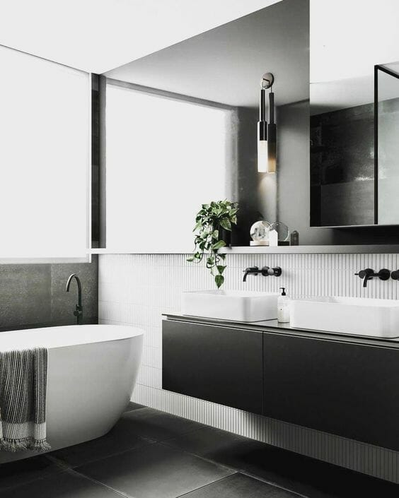 Black Bathroom Design Ideas | Big Bathroom Sh