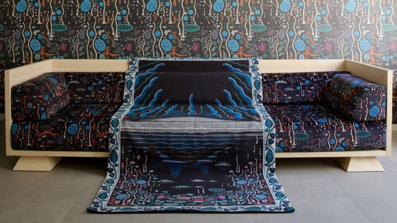 Black Lake Furniture And Textile Collection Inspired By Iceland .