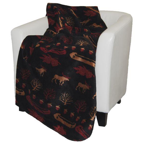 Denali Black Lake Throw Blanket | Home collections, Blanket .