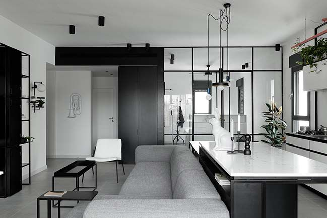 J3 Apt: A apartment for a couple in Tel Aviv by Studio ETN .