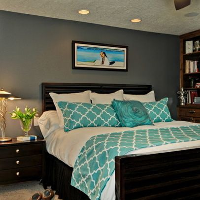 Turquoise Bedding Design Ideas, Pictures, Remodel and Decor | Home .