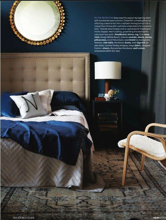 23 Classy Blue And Turquoise Accents Bedroom Designs | Blue and .