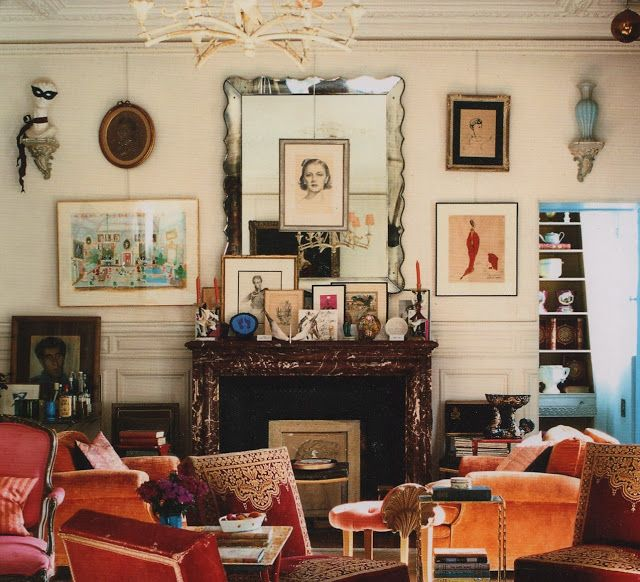 The Decorista-Domestic Bliss: the lived in look... | Parisian .