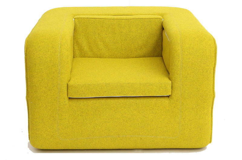 This Armchair Is Designed To Fold Out Into A B