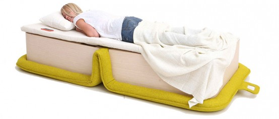Bold Flop Armchair That Folds Out Into A Bed - DigsDi