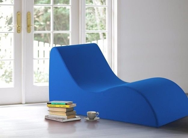 A bold lounge chair made of high-density comforting foam will earn .