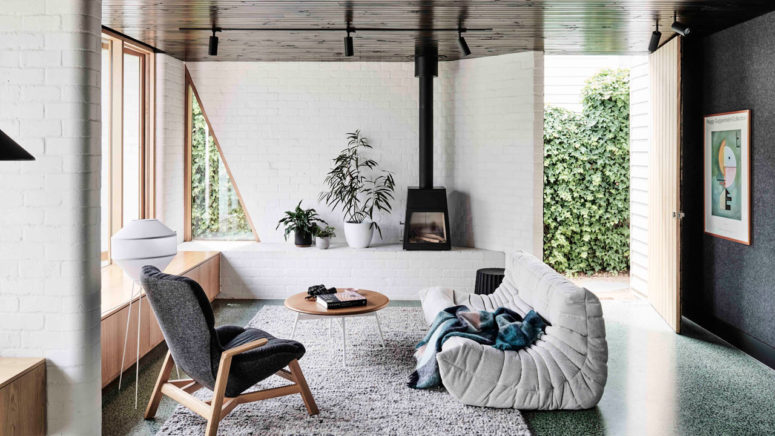 Bold Modern Home With Contrasting Interiors - DigsDi