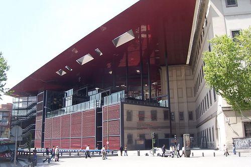 Reina Sofia Museum Extension, Madrid, Spa