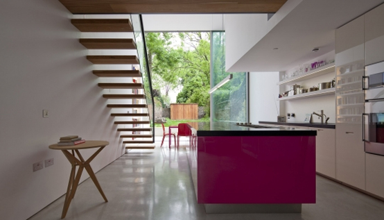 Modern Glass Cube Extension of Victorian Terraced House - DigsDi