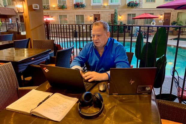 Had Enough of Working from Home? Try a Hotel Room. - W