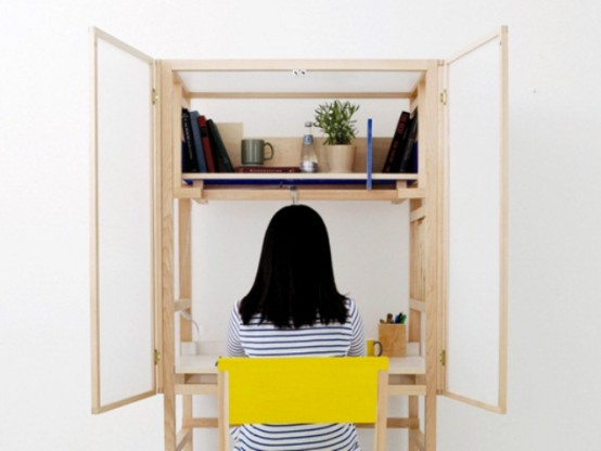 Border Desk To Keep Some Privacy While Working - DigsDi