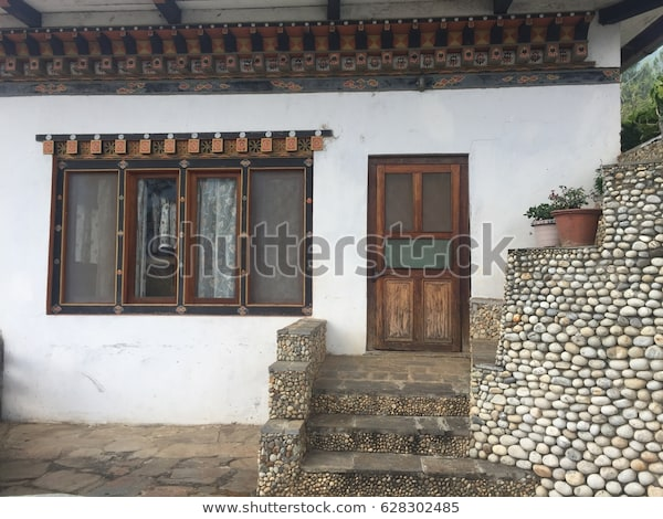 Exterior House Brick Wall Wood Window | Buildings/Landmarks Stock .