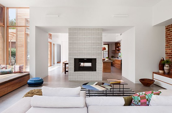 Bright And Airy Extension To A California Bungalow - DigsDi