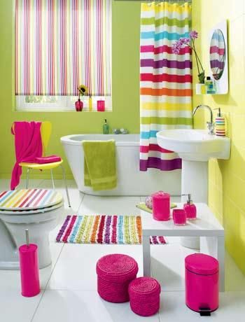 43 Bright And Colorful Bathroom Design Ideas | Girl bathrooms .